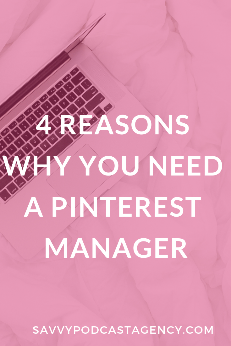 Looking to grow your website traffic, email list, and income? You just might need a Pinterest manager in your life.